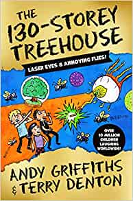 The 130-Storey Treehouse (Treehouse #10) by Andy Griffiths |