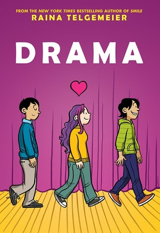 Drama by Raina Telgemeier | 978-0545326995