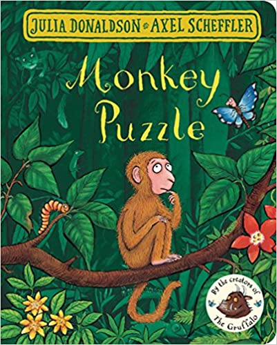 Monkey Puzzle by by Julia Donaldson (Illustrator), Axel Scheffler (Illustrator) |
