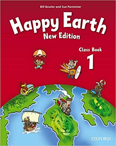 Happy Earth 1: Class Book by  | 978-0194732840